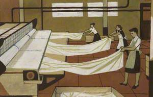 Hospital Laundry Workers