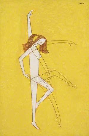 Dancer in Two Positions