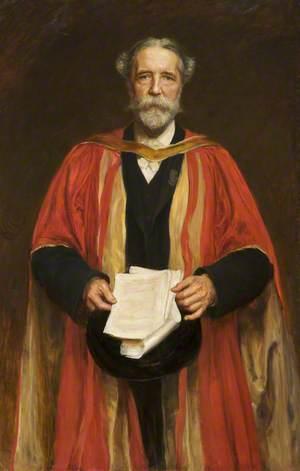 A. W. Ward, Principal of Owens College (1895–1897)