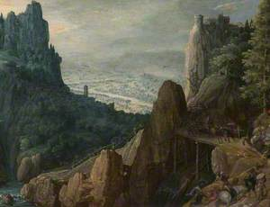 Landscape with the Conversion of Saint Paul