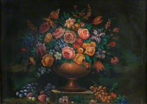 Vase Filled with Flowers
