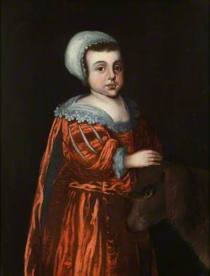 Portrait of an Unknown Boy of the Knight Family