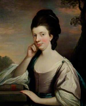 Portrait of a Lady, probably Elizabeth Hartley