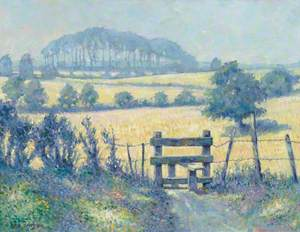 Landscape with Stile (Summer near Blackmoor)