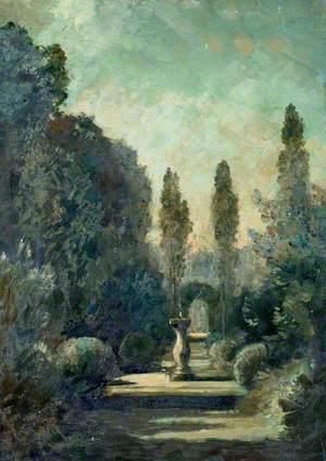 Garden with Sundial