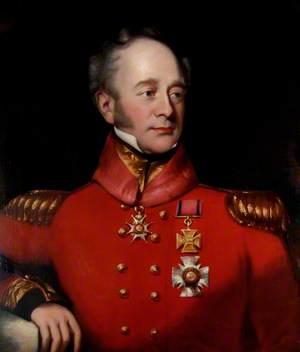 The Honourable Sir Hercules Pakenham, Military Governor of the Portsmouth Garrison