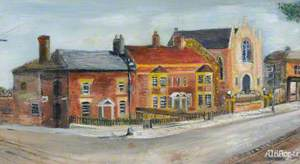 View of West Street, Fareham, Hampshire, by Thackeray's House