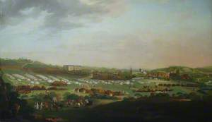 View of Winchester with the Militia Camp in the Foreground