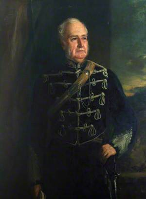 Charles Shaw-Lefevre (1794–1888), 1st Viscount Eversley, in the Uniform of the Hampshire Carabiniers
