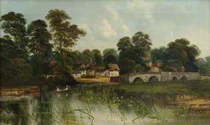 Village and Bridge at Iford