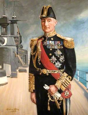 Earl Jellicoe (1859–1935) on Deck