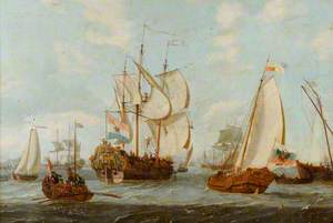 Dutch Shipping in Rotterdam Harbour