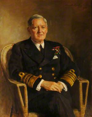 Admiral of the Fleet Lord Fraser of North Cape, GCB, KBE (1888–1981)