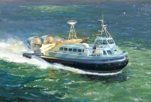 'AP.188' Military Hovercraft