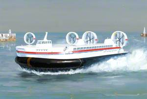 'BH.88' Hoverspeed Replacement for Channel Service