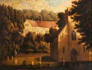 Chawton House and Church