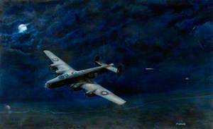 'Halifax' on Night Flight