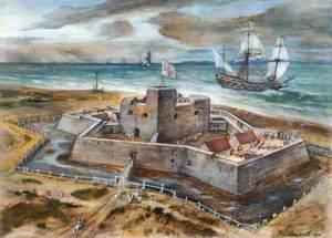 Southsea Castle, 1578