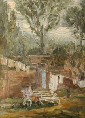 Garden with Washing Line