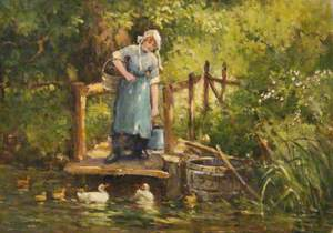 A Farm Maid