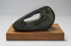 Figure in a Landscape-Zennor