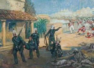 Gallantry at Iron Bridge, Lucknow, 11 March 1858