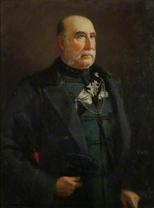 Lieutenant General Robert Beaufoy Hawley (1821–1898)