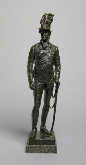 Rifle Brigade War Memorial Statuette