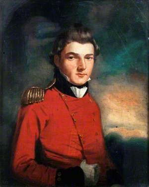 Possibly Lieutenant John Tatton Brown, Royal Marines