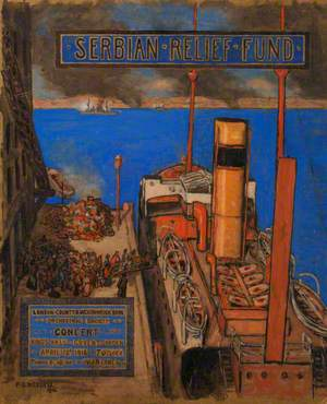 Serbian Relief Fund Concert, April 1916