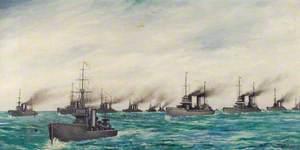 The Surrender of the German Fleet at Scapa, 21 November 1918