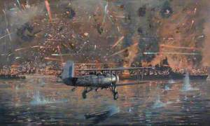 Taranto Harbour, Swordfish from 'Illustrious' Cripple the Italian Fleet, 11 November 1940