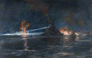 The Battle of Cape Matapan, 29 March 1941