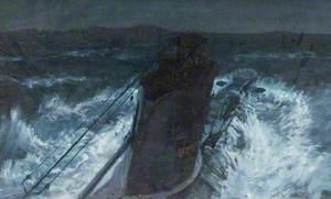 HMS 'Upholder' Attacking Italian Troopships