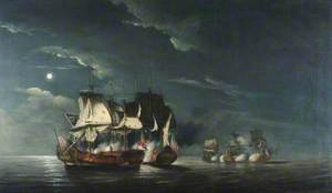 The Battle of Flamborough Head, 1779