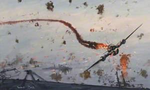 Japanese Kamikaze Suicide Attacks on Ships