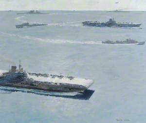 Formation of the British Pacific Fleet, 1944