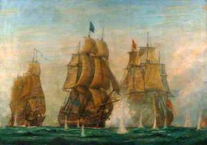 The Battle of St Vincent, 14 February 1797