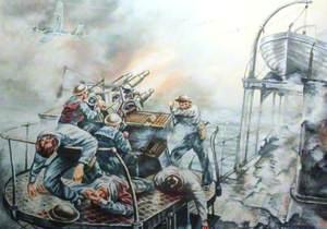 Attack on 'HMS Foylebank'