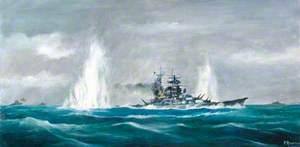 'Bismarck' under Attack