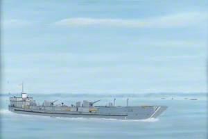 'NM LCF15' Sunk, Operation 'Brassard'