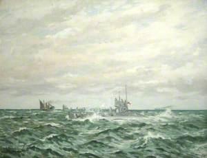HM Submarine 'C.30'