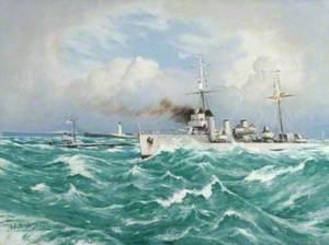 Submarine and Escort