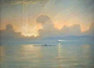 U-Boat at Sunset