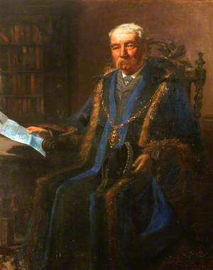 William Turner Senior, Mayor of Andover (1908)