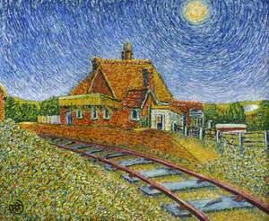 Station Building at Carisbrooke Halt
