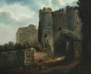 The Gatehouse at Carisbrooke Castle