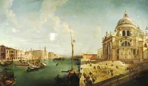 The Grand Canal with Santa Maria della Salute
