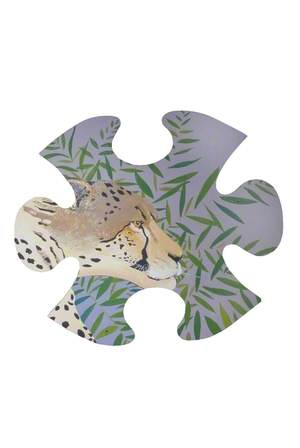 Jungle Jigsaw: Cheetah