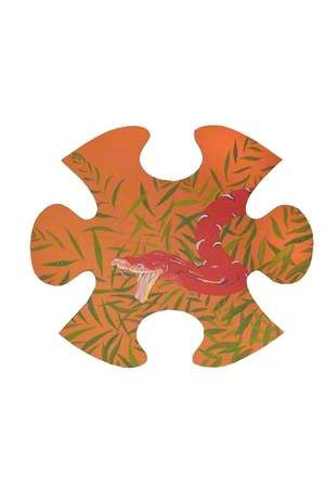 Jungle Jigsaw: Snake Head